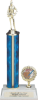 1 Column Trophy Single Column Trophies