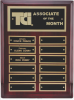 Rosewood Piano Finish Corporate Plaque Wall Plaque Awards