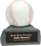Baseball - Colored Resin Trophy Baseball & Softball Trophies