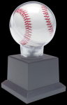Allstar Baseball Holder on Black Plastic Pedistal Base Baseball & Softball Trophies