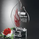 Wildfire Flame Corporate Crystal & Glass Awards