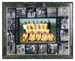 Team Photo Plaque Custom Awards
