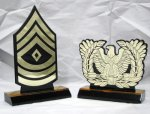 Military Desktop Insignias Custom Awards