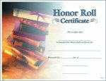 Photo Honor Roll Certificate Fill in the Blank Certificates