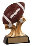 Football Shooting Star Resin Trophy Football Trophies