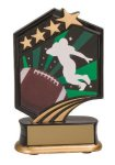 Football Resin Trophy Football Trophies