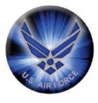 Ball Marker Air Force Golf Ball Markers