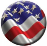 Ball Marker USA Flag Golf Ball Markers
