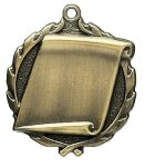 Engraving Scroll Medals Insert Medallion Awards
