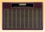 Rosewood Perpetual Plaque Large Perpetual Plaques