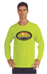 Long Sleeved T-Shirt with Full Chest Custom Imprinted Graphic Long Sleeve T-Shirts