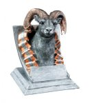 Ram Mascot Mascot Resin Trophy Awards