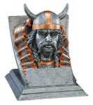 Viking Mascot Mascot Resin Trophy Awards