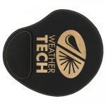 Leatherette Mouse Pad -Black/Gold Misc. Gift Awards