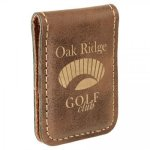 Leatherette Money Clip -Rustic Misc. Gift Awards