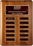 American Walnut - Perpetual Plaque Monthly Perpetual Plaques