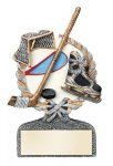 Ice Hockey Multi Color Sport Resin Figure Multi Color Sport Resin Trophy Awards