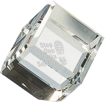 Crystal Cube Paperweight Optical Crystal Awards