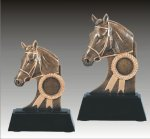 Equestrian Sculpture Horse Theme Pedestal Resin Trophy Awards