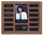 Walnut Photo Plaque Photo Perpetual Plaques