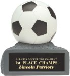 Soccer - Colored Resin Trophy Soccer Trophies