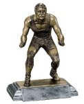 Sports Action Wrestling Male Sports Action Resin Trophy Awards