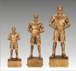 Sports Champion Basketball Male Sports Champion Resin Trophy Awards