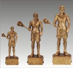 Sports Champion Lacrosse Female Sports Champion Resin Trophy Awards