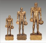Sports Champion Football Male Sports Champion Resin Trophy Awards