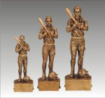 Sports Champion Softball Female Sports Champion Resin Trophy Awards