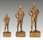 Sports Champion Swimming Female Sports Champion Resin Trophy Awards