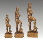 Sports Champion Soccer Male Sports Champion Resin Trophy Awards