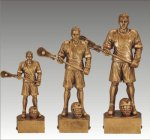Sports Champion Lacrosse Male Sports Champion Resin Trophy Awards