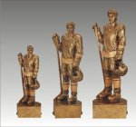 Sports Champion Hockey Male Sports Champion Resin Trophy Awards