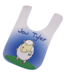 Infant Bib with Custom Subligraphic Design Wearables
