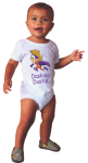 Infant Onesie with Custom Subligraphic Design Wearables